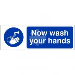 Now Wash Your Hands Hygiene...