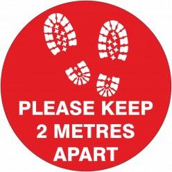 Floor Sign - Please Keep 2...