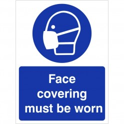 Face Covering Must Be Worn...