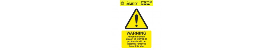 General Coronavirus Signs