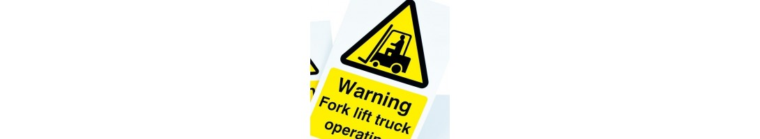 Forklift Truck Signs